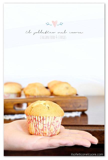 muffin-alla-banana-gocciole-cioccolato-fondente