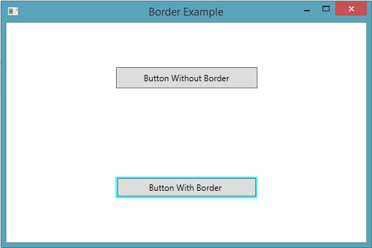 Design Better UI with Border Control in WPF