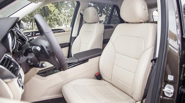 Ghế xe Mercedes GLE 400 4MATIC Exclusive thiết kế thoải mái