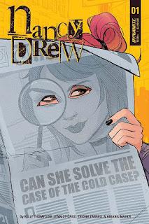 """""""Nancy Drew"""", de Kelly Thompson y Jenn St-Onge - Dynamite Entertainment"""