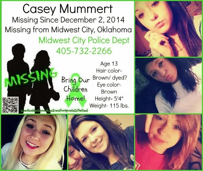 Missing Persons of America: Casey Mummert: Missing Person