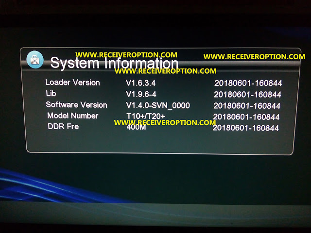GXSS1B VER3.1 AND VER3.0 BOARD HD RECEIVERS LATEST POWERVU KEY SOFTWARE