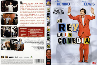 Carátula: cEl rey de la comedia (1982) The King of Comedy