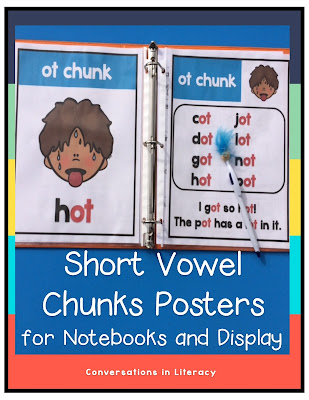Short Vowel word work ideas