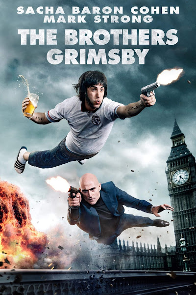 Poster of The Brothers Grimsby (2016) Full Movie [English-DD5.1] 720p BluRay ESubs Download