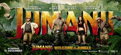 review jumanji 2017