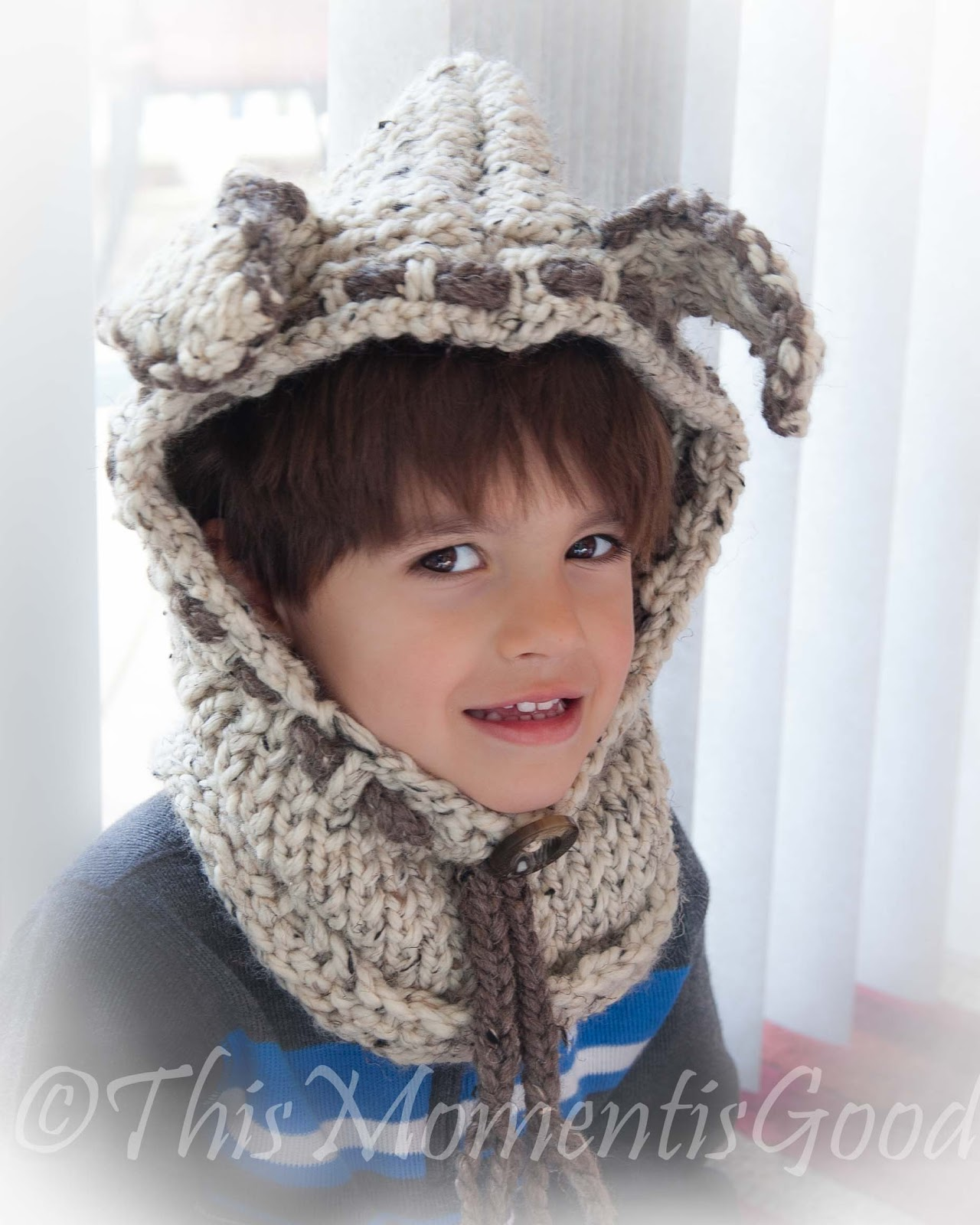 LOOM KNIT FOX, PUPPY AND ZEBRA HOOD PATTERNS! | Loom Knitting by ...