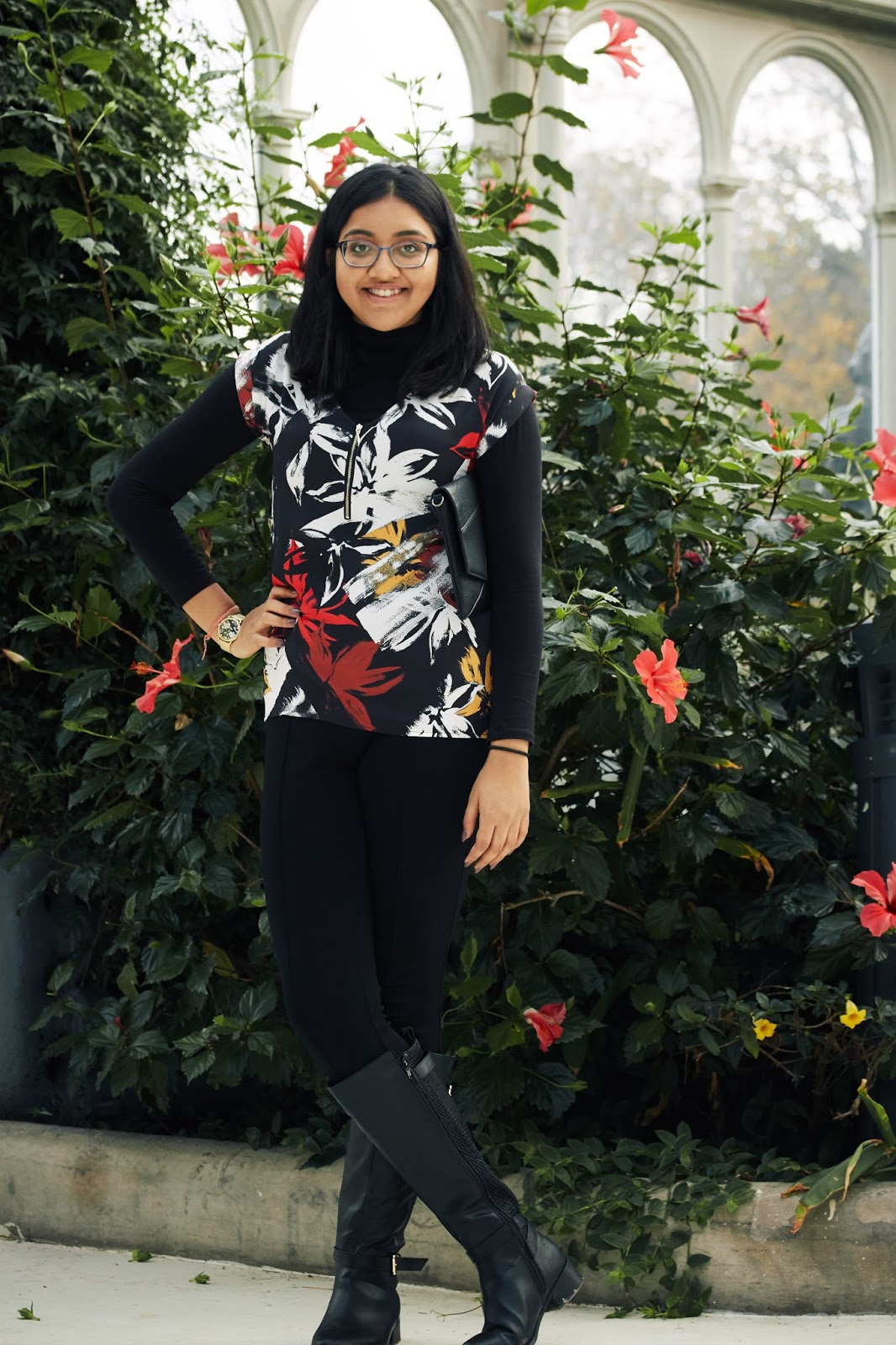 Therapy  Frida Floral Print Top