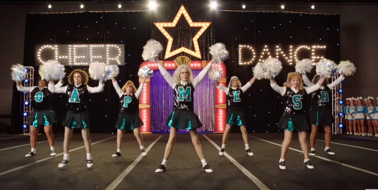 Poms - Go out and cheer for your grandparents - 2 5 stars