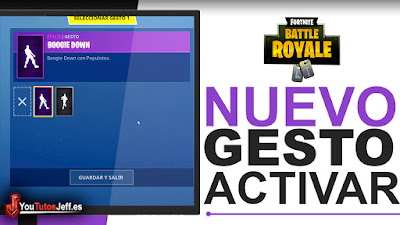 activar boogie down en fortnite