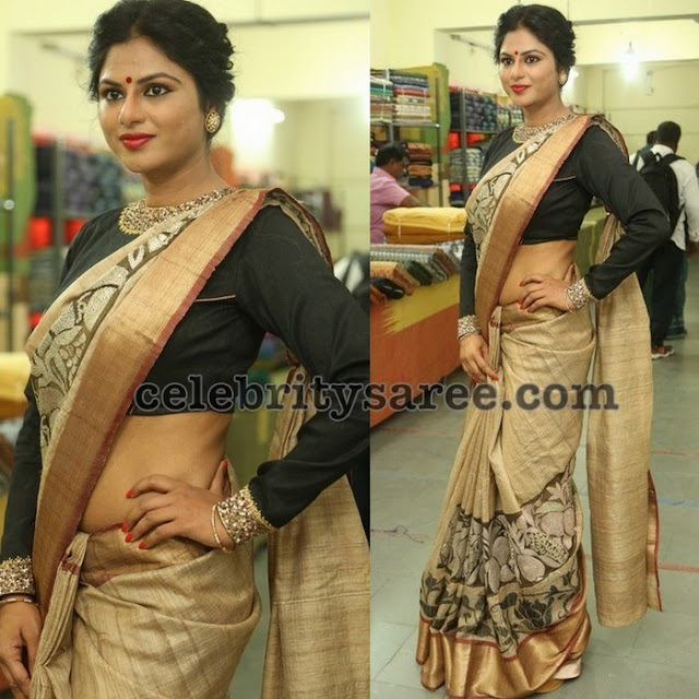 Sailaja Reddy in Kadhi Saree