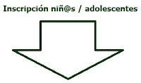INSCRIPCIÓN NIÑ@S / ADOLESCENTES