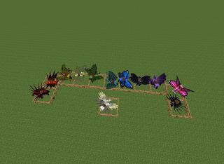 Krhonos Papercrafts Fairy Horses Mo Creatures Mod