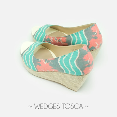 Wedges Tosca The Warna Indonesia