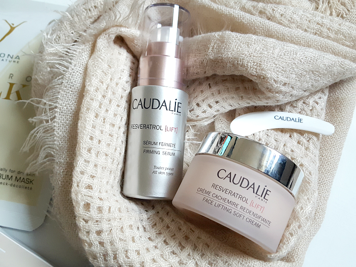 Review: CAUDALIE Resveratrol LIFT Fac Lifting Serum & Cream