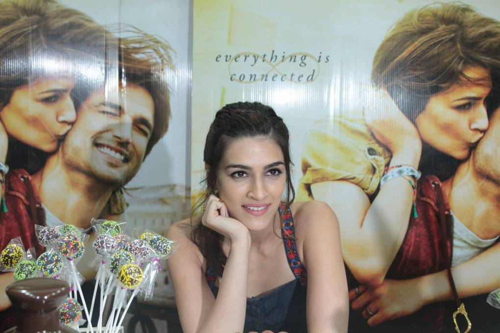 Kriti Sanon At Chocolate Making Session Stills