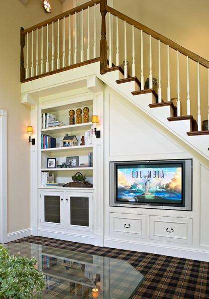 45 Ide Kreatif Memaksimalkan Ruang Bawah Tangga - Rumahku Unik