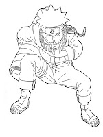 Printable Naruto Coloring Pages Realistic