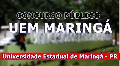 Apostila Concurso UEM Maringá - Auxiliar Operacional 2017