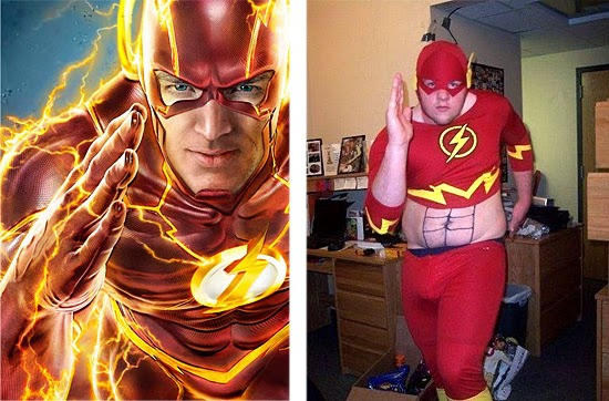 Cosplay Fail- The Flash