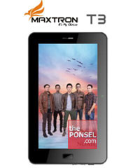 Maxtron T3 - Tablet Jelly Bean 7 Inci Mampu Memutar Video Full HD 1080p Harga Terjangkau
