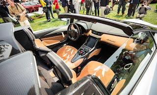 2016 Lamborghini Centenario Roadster Cabin Interior Picture
