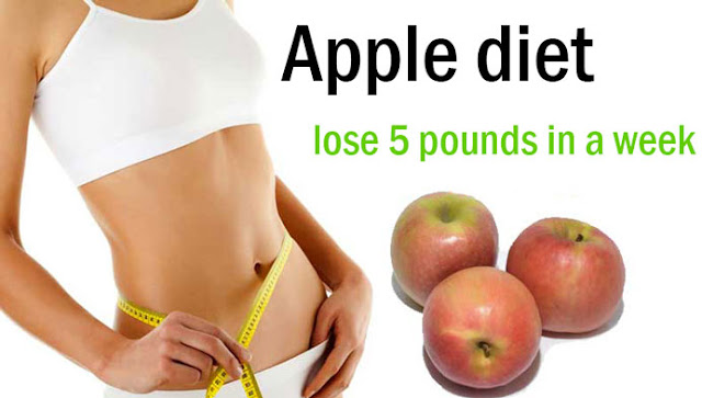The apple diet: 5 kilos away with the apple trick