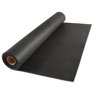 Greatmats rubber flooring roll weight room gym