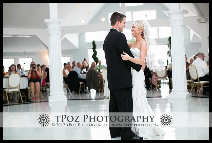 First Dance Kurtz's Beach Wedding Reception