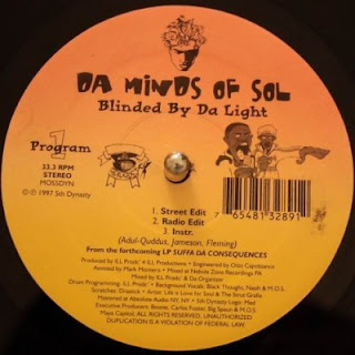 Da Minds Of Sol – Blinded By Da Light / Holocaust Part II (1997) [VLS] [FLAC] [5th Dynasty]