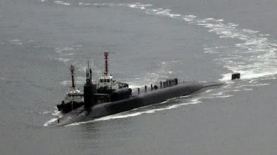 Un submarino nuclear de Estados Unidos llegó a la península de Corea
