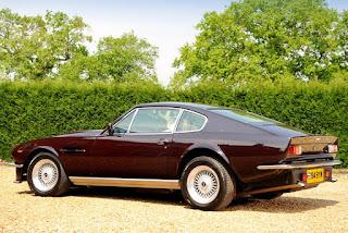 1977 Aston Martin V8 Vantage Side Picture