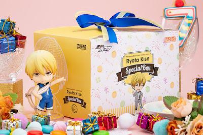 "Nendoroid Ryota Kise & Ryota Kise Special Box de ""Kuroko no Basket"" - Orange Rouge"