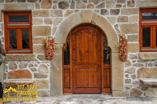 Architecture detail - Brajčino village, Resen municipality, Macedonia