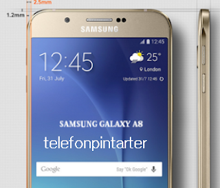 Telefon Pintar Samsung Galaxy A8