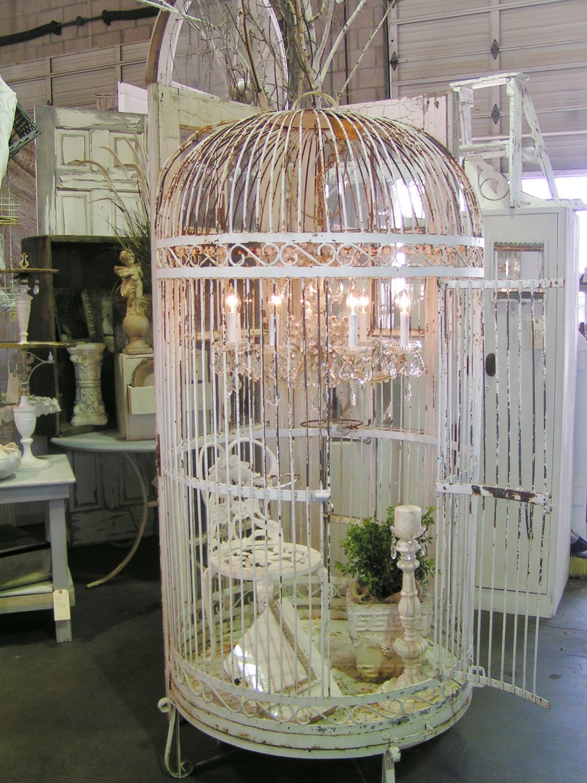 Large Antique Bird Cage Best 2000 Decor Ideas