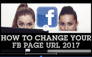 How to change page url in Facebook