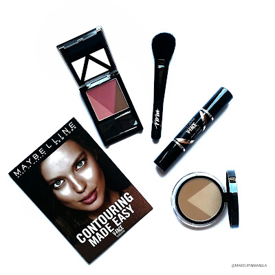 Maybelline V-Face Contour Duo Stick, Powder and Blush Review