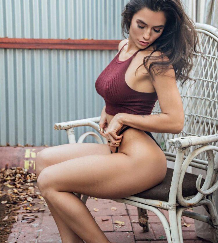 Luciana Alegre, la sexy peruana reina del fitness