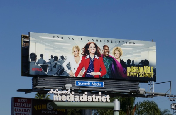 Unbreakable Kimmy Schmidt season 4 FYC billboard