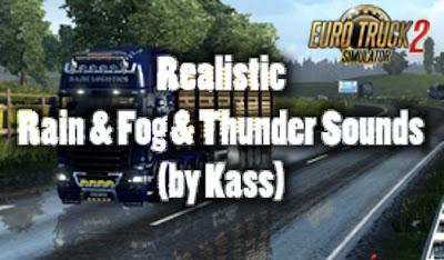 Realistic Rain & Fog & Thunder Sounds v 3.8