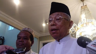 Pak Kh Ma'ruf Amin Calon wakil presiden ngendiko