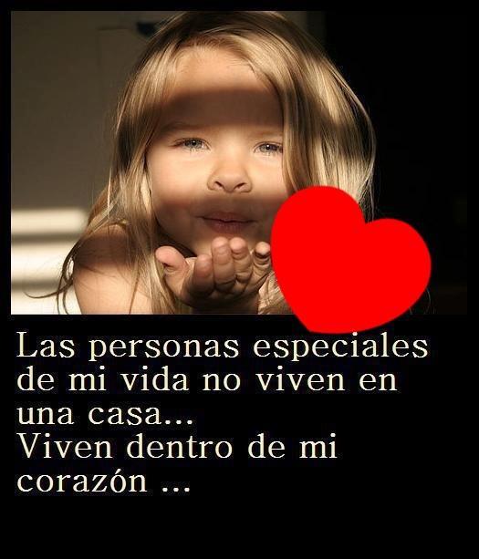 Las personas especiales