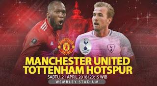 Susunan Pemain Manchester United vs Tottenham Hotspur - Semifinal Piala FA
