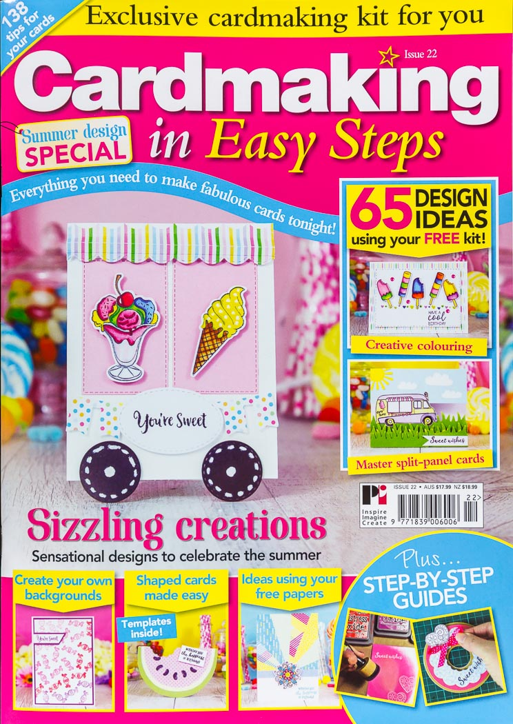 I was published - Cardmaking In Easy Steps