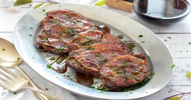Beef Tenderloin Saltimbocca Recipe