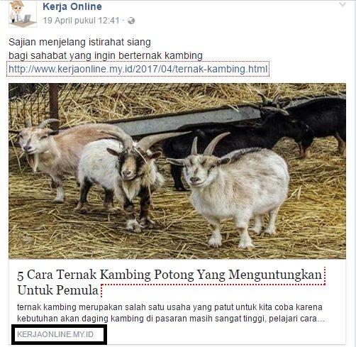 Ternyata Mudah Memasang Tag Author Facebook Di Blog Agar Bisa Tampil Pada Saat Di Share