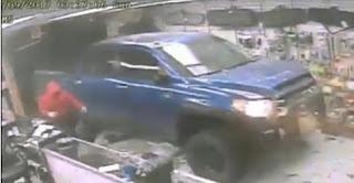 خطير   هكذا تمت سرقة متجر أسلحة في نصف دقيقة