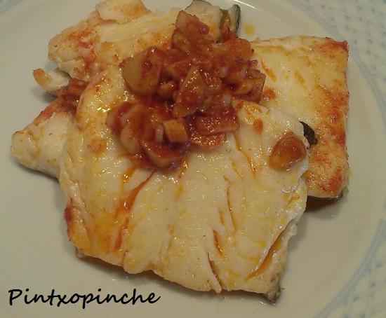 bacalao, ajos, guindilla, picante, pescado, aceite de oliva