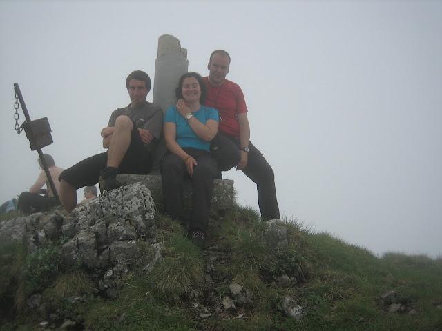 Foto en la cima de la Tesa